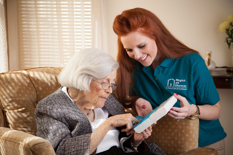 right at home in home care services
